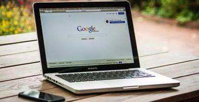 computadora con google